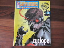 CYCLOPE FASCICULE N° 25     --  SUPER HEROES MARVEL / EAGLEMOSS  ----