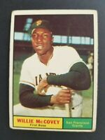 Topps San Francisco Giants 1961 Willie McCovey Trading Card #517