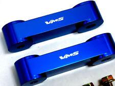 VMS JDM BLUE Hood Spacer Risers Set 90-01 Acura Integra 88-00 Honda Civic CRX