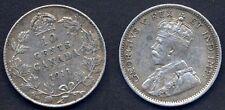 CANADA 10 Cents 1911  AG