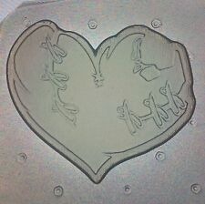 Flexible Mold Zombie Heart Resin, Chocolate Or Soap Mould