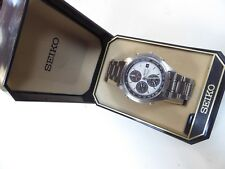 Rare Seiko Panda 7T32-7C60 Chronograph tachymeter In Near Mint Cond Original Box