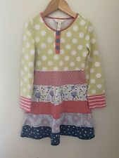 Matilda Jane Make Believe Cozy Day Dress girls size 6 *see Note*