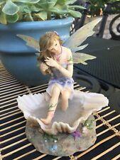 "Retired 2003 Faerie Glen ""PEARLSHINE"" Figurine Fairy FG818 MUNRO"