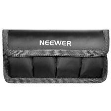 Neewer DSLR Battery Bag for AA Battery and lp-e6/ 8/ 10, en-el14/ 15, fw50/f550