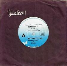 """JETHRO TULL - FLYINGDALE FLYER - RARE 7"""" 45 VINYL RECORD - 1980"""