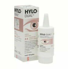 HYLO DUAL Hylo-Protect EYE DROPS 10ml moisturizing Dry Eye Allergy Soothing