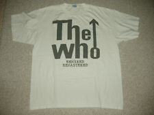 THE WHO Remixed Remastered Catalog PROMO T-Shirt Vintage Leeds Who's Next