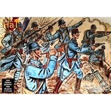 HaT 7002 WWI French Infantry 1/72 Plastic scale model kit