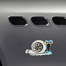 Funny Turbo Snail Decal Car Styling Window Bumper Wall Home Sticker Accessories