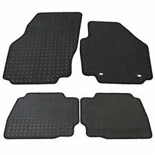 Rubber Ford Mondeo Tailored Car Mats Oval Fixings (2007-2012) - Black