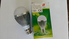 10 + 1 FREE 5W Dimmable BC Cool White LED Light Lamp Bulb Low Energy 240V JobLot