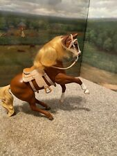 Grand Champions Horse Palomino Poseable Neighing Saddle Bridle