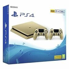 Sony Playstation PS4 500GB Konsole Gold & Silber mit 2 CONTROLLER BRANDNEU