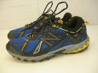 Men's 11.5 D M New Balance 610 MT610BL Blue Black Yellow Trail Running Shoes USA