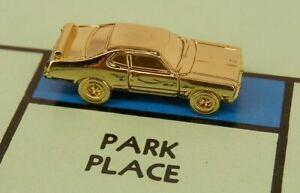 Monopoly Car Token - '71 Plymouth Duster 1971 MOPAR - Gold Chrome Color