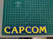 CAPCOM 3D printed logo desk shelf stand color video game company