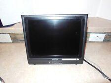 "801 Sharp AQUOS Liquid Crystal LC-13S1U-B 13"" Flat Screen TV"