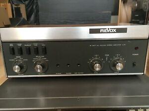 Revox A78 MKII Verstärker Stereo Amplifier