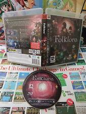 Playstation 3 PS3:Folklore [TOP RPG & EDITION RARE] SANS NOTICE - Fr