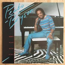 Peabo Bryson DON'T PLAY WITH FIRE 1982 Capitol USA Vinyl LP ST-12241