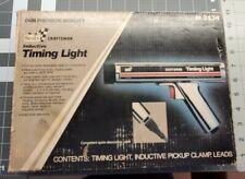 Vintage Sears Craftsman Inductive Timing Light 28 2134 Original Box Cable Manual