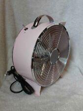 NWT PINK Retro Electric Fan Tommy Bahama