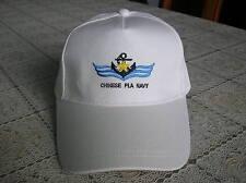 07's series China Pla Navy Cap,Hat Baseball Style,White.