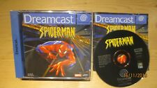 Spiderman Spider-man for Sega Dreamcast. Boxed with Manual. Pal