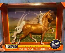 Breyer 70th anniversary Palomino Saddlebred Hamilton Mold Limited Edition