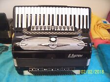 S.Soprani 120 Bass Accordion Double Cassotto tone chamber Accordian Sano 8M PU