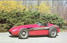 Vintage Stirling Moss '54 Maserati Long Island Auto Museum Formula 1 postcard