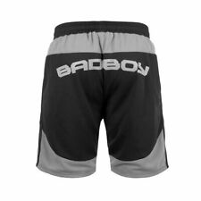 Bad Boy Force Shorts Black Grey No Gi Grappling BJJ MMA shorts Jiu Jitsu