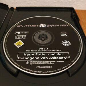 Harry Potter und der Gefangene von Askaban - Nur Disc 2 mit Code - PC Spiel OVP