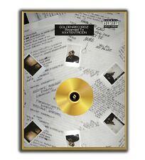 XXXTENTACION Poster, 17 GOLD/PLATINIUM CD, gerahmtes Poster HipHop Rap WallArt