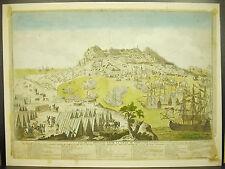 Gibraltar siège de 1779 bataille battle Dom Barcelo Dom Joachimde Mendoza XVIIIe
