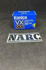 KONICA VX  200 - 36 EXP 35 film expired film