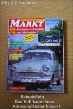 Oldtimer Markt 12/91 Simca Opel Olympia Heinkel Perle