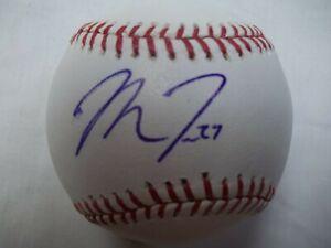 Mike Trout Autographed Major League Baseball No COA