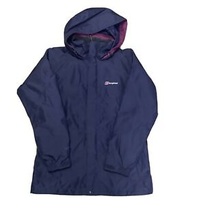 berghaus jacket Ladies Gore-tex Waterproof Lightweight Rain Coat Uk 12 VGC