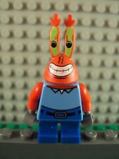 Lego SpongeBob Squarepants Minifig ~ Mr Krabs / Krusty Krab ~