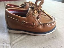 Toddler Size 3 Boat Shoes New Without Tags.