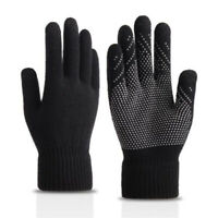 Winter Touch Screen Gloves Women Men Warm Stretch Knit Mittens Crochet NT