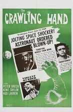 Crawling Hand Poster 02 Metal Sign A4 12x8 Aluminium