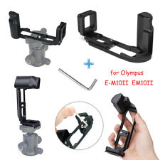Metal Hand Grip Quick Release L Plate Bracket Holder for Olympus EM10II E-M10
