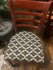 set of 35 brand new restaurant chairs.open back upholtered seat.$15 each.