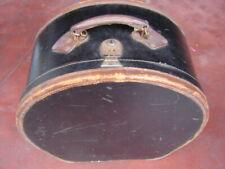 CAPPELLIERA HATBOX ANTICA ANCIENT VINTAGE CAPPELLI PIUME GALLO HAT '900