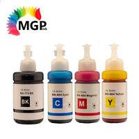 Compatible EPSON T774 T664 EcoTank bottle ink (BK+C+M+Y) ET16500 ET4550