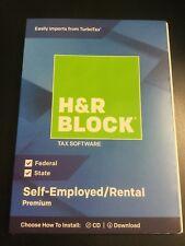 H&R BLOCK Tax Software Premium 2018  BLUE #6445