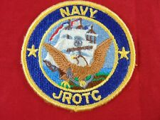 U. S. Navy Jrotc Embroidered Color Patch